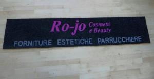 rojo - tappeto personalizzato sintetico