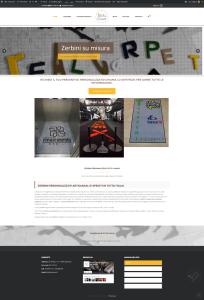 Homepage del sito Real Carpet